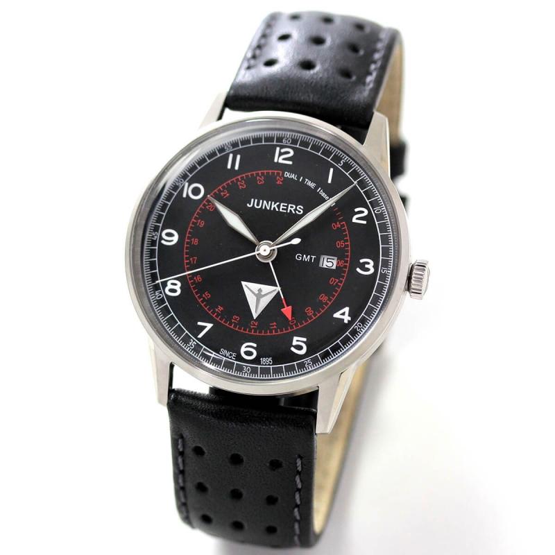JUNKERS(ユンカース)/クォーツ GMT G38/6946-2QZ/腕時計
