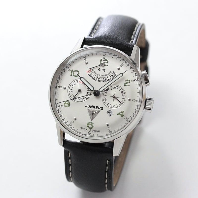 JUNKERS(ユンカース)/自動巻き/ G38 トリプルカレンダー 6960-4AT 腕時計