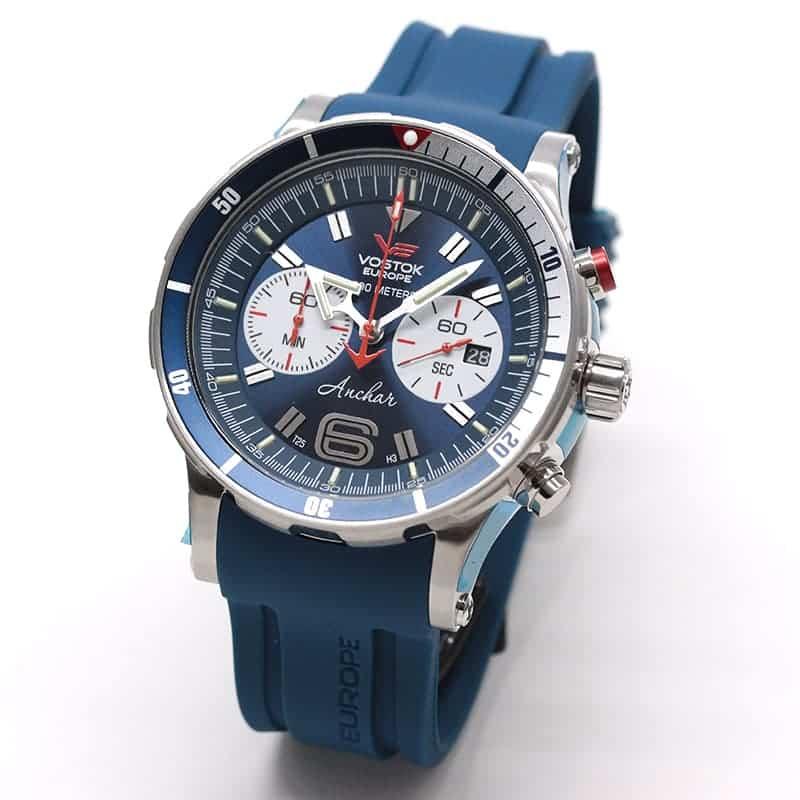 VOSTOK EUROPE(ボストーク・ヨーロッパ)/ANCHAR(アンチャール)/世界限定モデル/クロノグラフ/クォーツ/6S21-510A583/腕時計