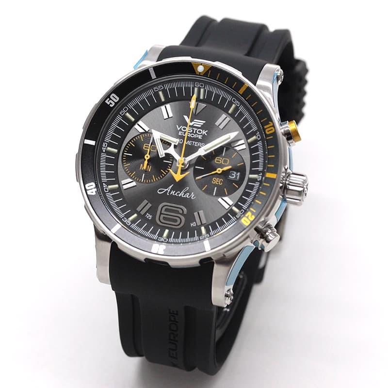 VOSTOK EUROPE(ボストーク・ヨーロッパ)/ANCHAR(アンチャール)/世界限定モデル/クロノグラフ/クォーツ/6S21-510A584/腕時計