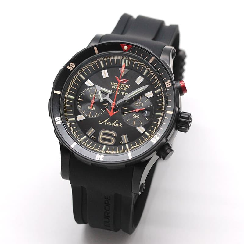 VOSTOK EUROPE(ボストーク・ヨーロッパ)/ANCHAR(アンチャール)/世界限定モデル/クロノグラフ/クォーツ/6S21-510C582/腕時計