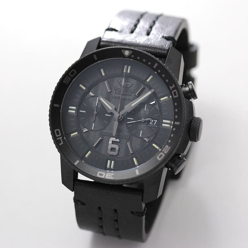 VOSTOK EUROPE(ボストーク ヨーロッパ) EKRANOPLAN(エクラノプラン) ブラック 世界限定3000本 6S21-546C510 腕時計