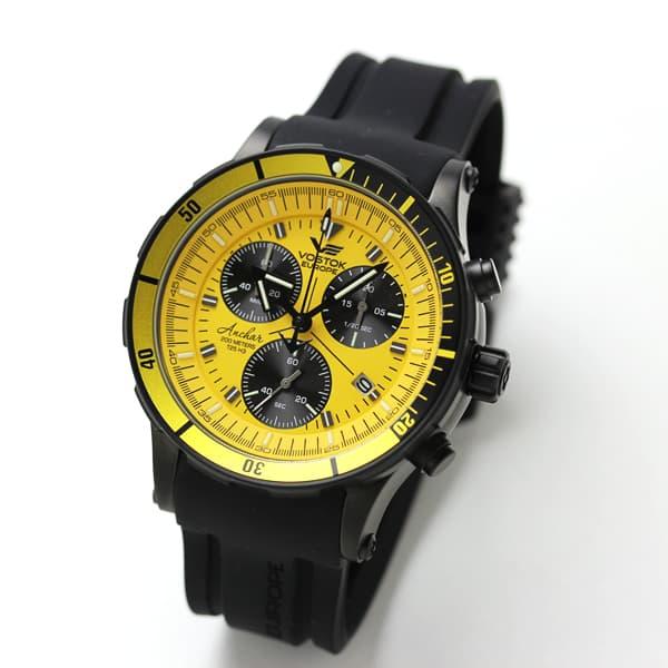 VOSTOK EUROPE(ボストーク・ヨーロッパ)/ANCHAR(アンチャール)/世界限定モデル/クロノグラフ/クォーツ/6S30-5104185 腕時計