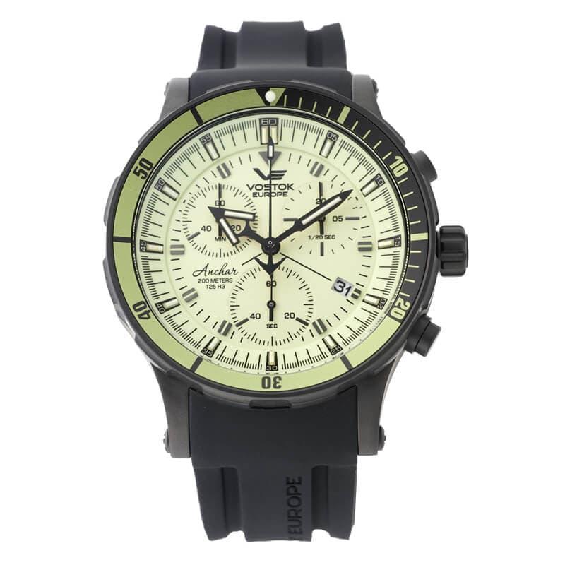 VOSTOK EUROPE(ボストーク ヨーロッパ)/ANCHAR(アンチャール)/世界限定モデル/クロノグラフ/クォーツ/6S30-5104243 腕時計