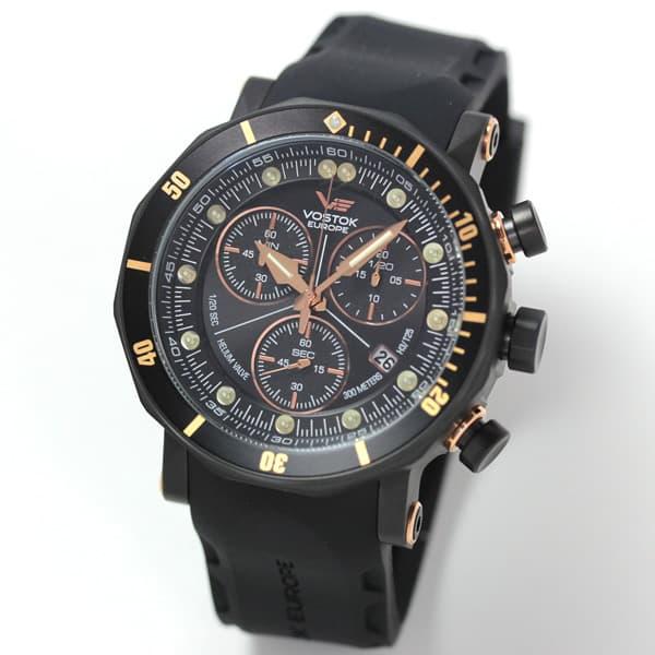 VOSTOK EUROPE/ボストークヨーロッパ/LUNOKHOD2(ルノホート)/クオーツクロノグラフ/6S30-6203211 腕時計