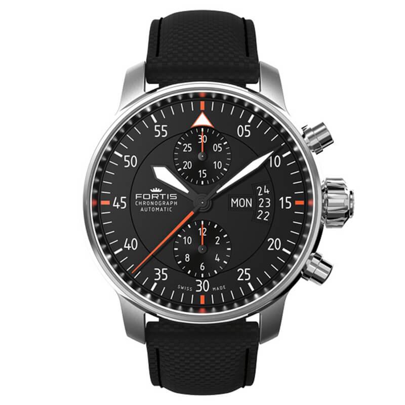 a60cc22715 フォルティス(FORTIS) コックピット2 クロノグラフ 自動巻き 705.21.19LP 腕時計