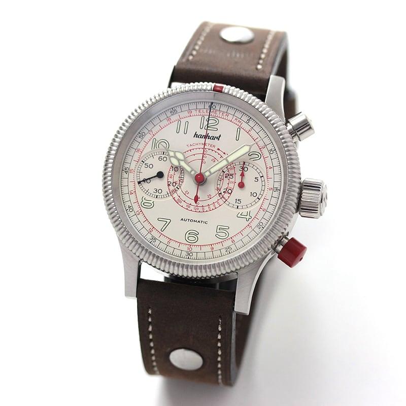 hanhart(ハンハルト) PIONEER TACHYTELE(パイオニア タキテレ)/ブラウン/ 712.200-011 腕時計