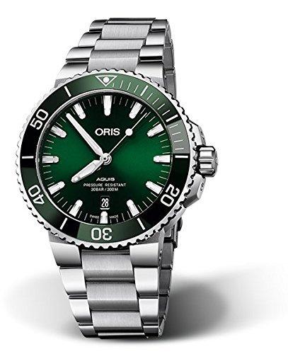 オリス/Oris/ダイビング/AQUIS(アクイス) デイト/ブラック/733.7730.4157M  腕時計