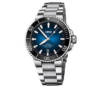 オリス/Oris/ダイビング/AQUIS(アクイス)/クリッパートン リミテッドエディション 733 7730 4185-Set MB 腕時計