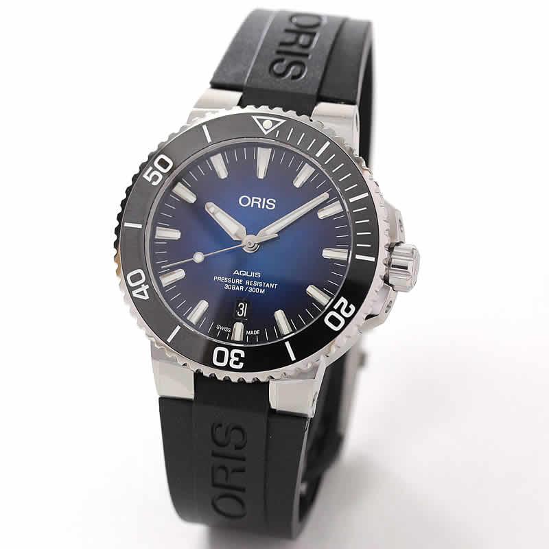 オリス/Oris/ダイビング/AQUIS(アクイス)/クリッパートン リミテッドエディション 733.7730.4185R 腕時計