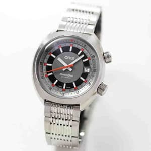 Oris(オリス)クロノリス ステンレスベルト 733 7737 4053-07 8 19 01 自動巻き 腕時計