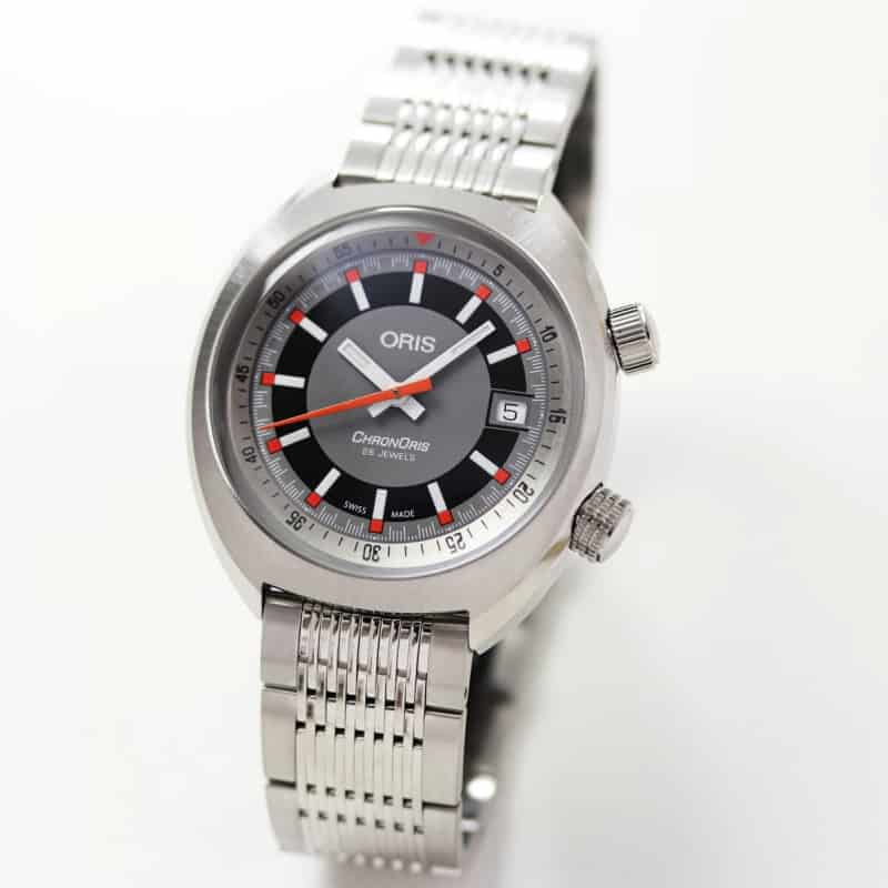 Oris(オリス)クロノリス ステンレスベルト 733.7737.4053M 自動巻き 腕時計