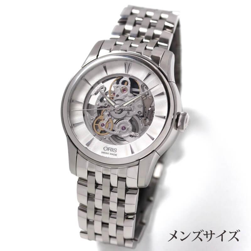 ORIS(オリス)アートリエ・スケルトン・オートマティック734 7670 4051-07 8 21 77腕時計
