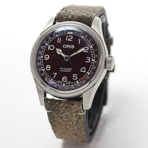 オリス(ORIS)ビッグクラウン オリジナル ポインターデイト メンズ 754 7741 4068-07 5 20 50 腕時計 レッド