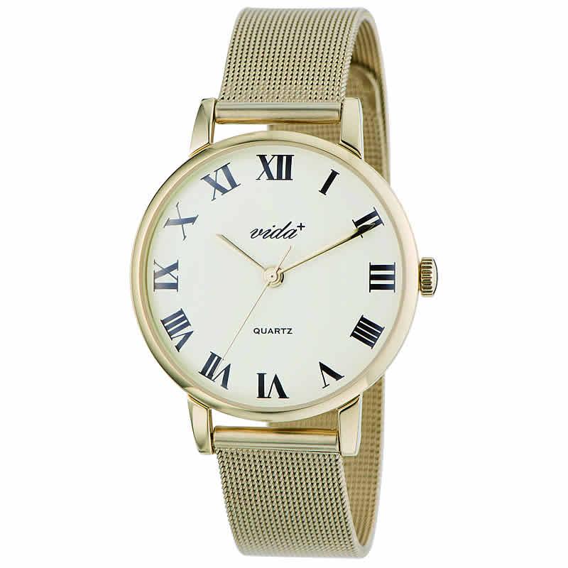 VIDA+Voyage 男女兼用 84961 GD-GD 腕時計