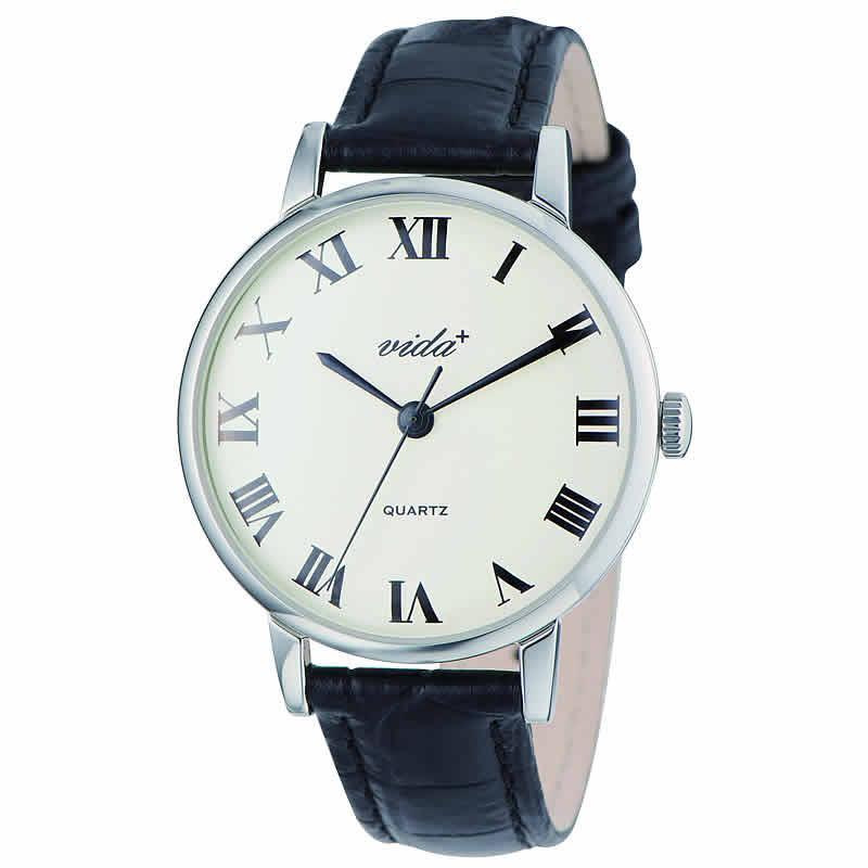 VIDA+Voyage 男女兼用 84962 SV-BK 腕時計