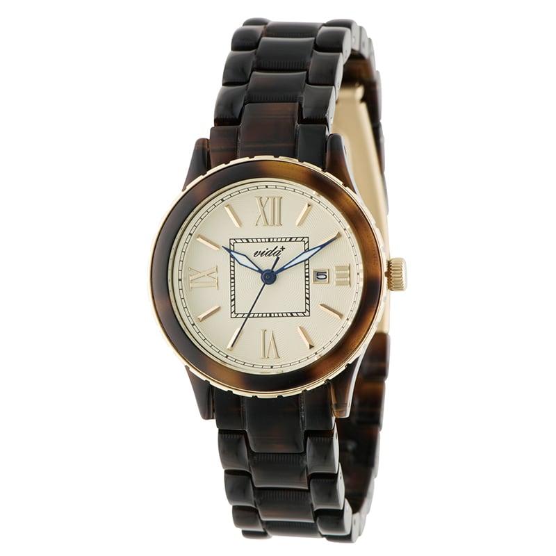 VIDA+ Mum(マム) 85010 BR ブラウン レディース 腕時計