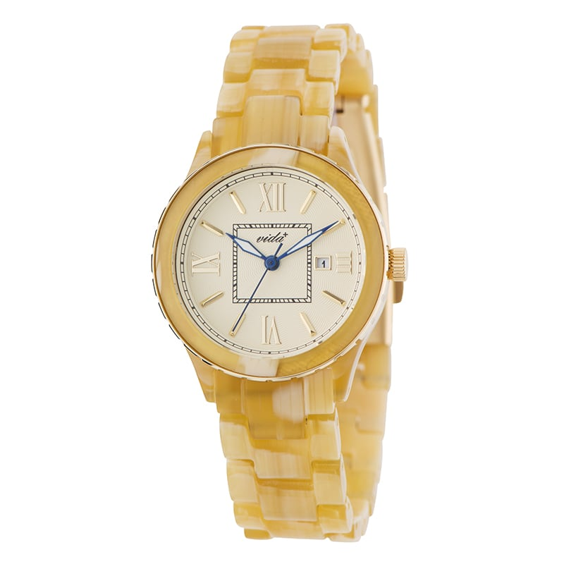 VIDA+ Mum(マム) 85011 IV アイボリー レディース 腕時計