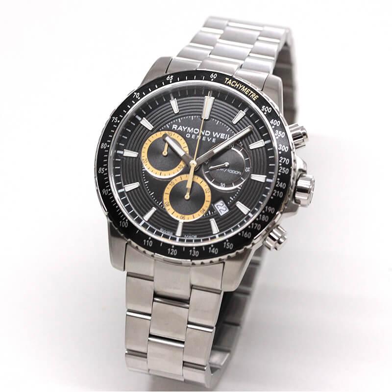 レイモンドウェイル タンゴ(TANGO)30気圧防水 8570-ST1-20701 クロノグラフ 腕時計