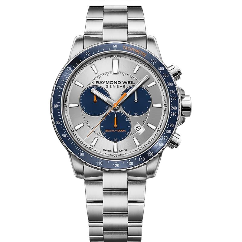 レイモンドウェイル タンゴ(TANGO)30気圧防水 8570-ST3-65501 クロノグラフ 腕時計