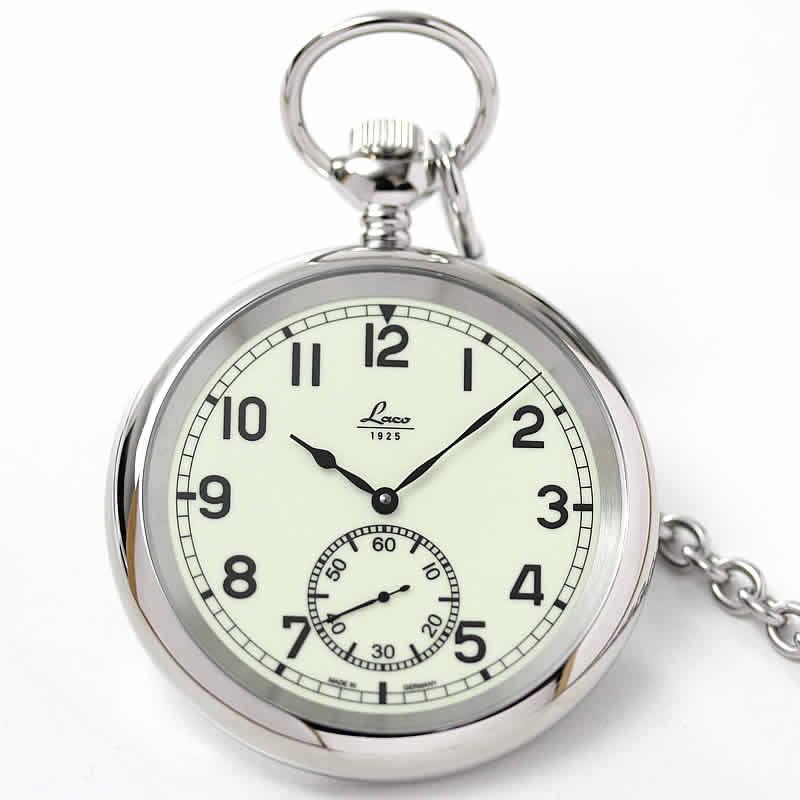 Laco(ラコ) 手巻き式 ポケットウォッチ ネイビーウォッチ 861205/懐中時計