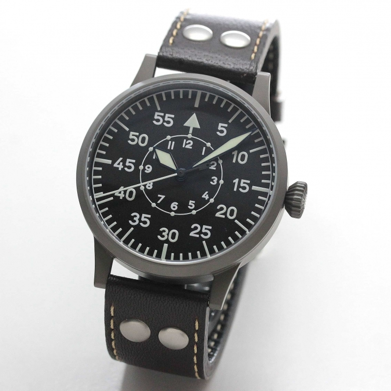ラコ(Laco) オリジナルパイロットウォッチ Laco01系 手巻き式 ドルトムント 861751 腕時計