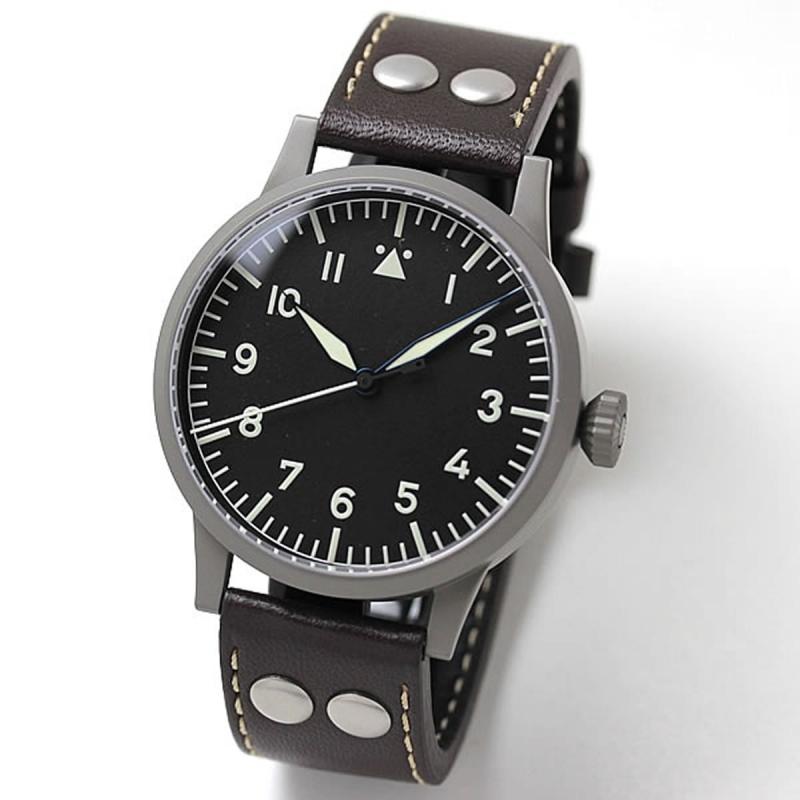 お客様からのキャンセルにより割引中(銀振込前払いは20%OFF)ラコ(Laco) オリジナルパイロットウォッチ Laco24系 自動巻き ザールブリュッケン 861752 腕時計
