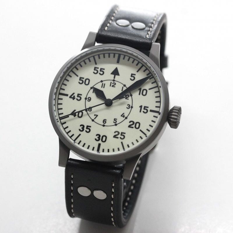 ラコ(Laco) 自動巻き パイロットウォッチ Laco24系 ヴィエン 腕時計 861893