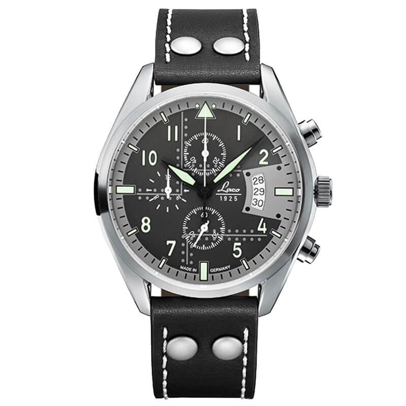 ラコ(Laco) クロノグラフウォッチ クォーツ デトロイト(ブラック) 861917J  日本限定モデル 腕時計