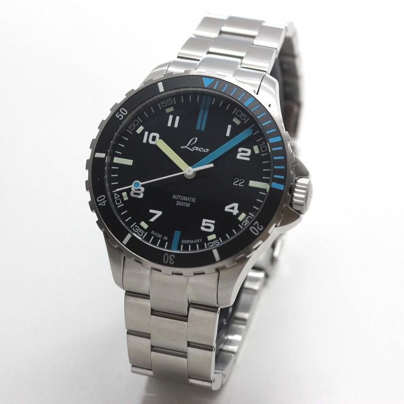 ラコ(Laco) スポーツウォッチ 自動巻 Atlantic アトランティック 862108MB 腕時計
