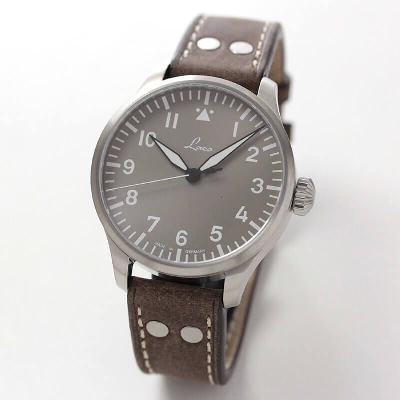 ラコ(Laco) パイロットウォッチ アウクスブルク(Augsburg)トープ 42 自動巻き 腕時計 862116