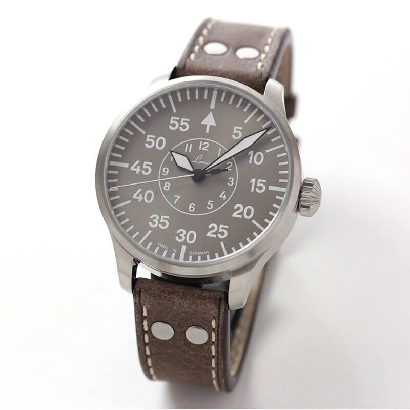 ラコ(Laco) パイロットウォッチ アーヘン(Aachen)トープ 42 自動巻き 腕時計