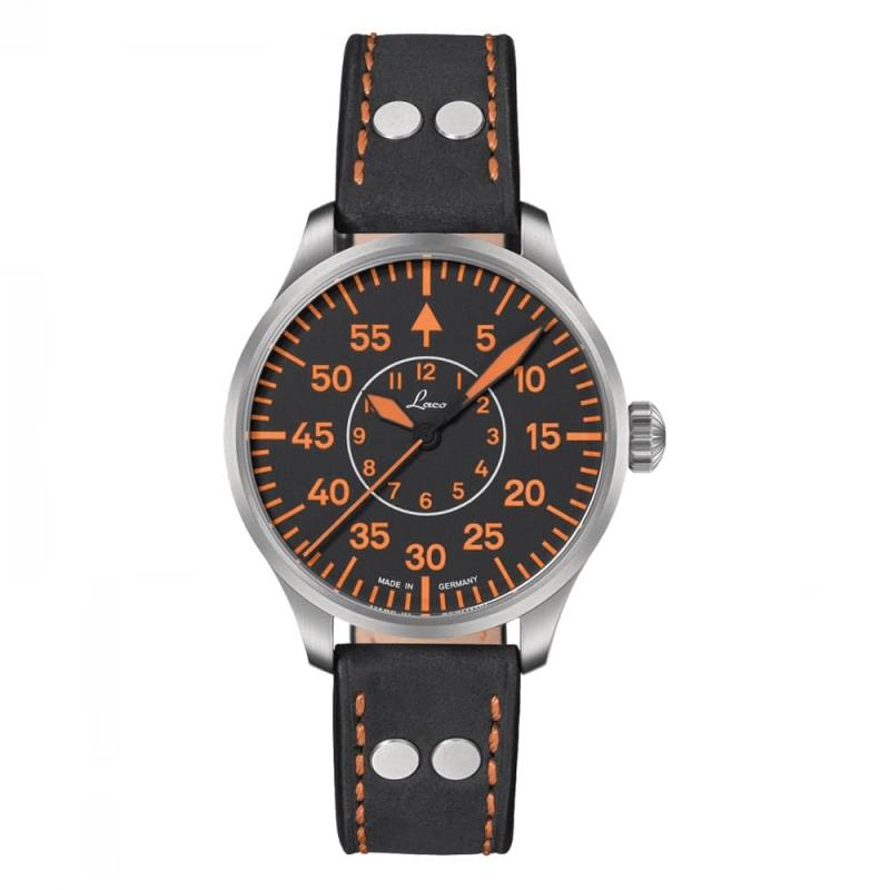 Laco(ラコ) パイロットウォッチ LACO 21系 自動巻き パレルモ39 腕時計 862130