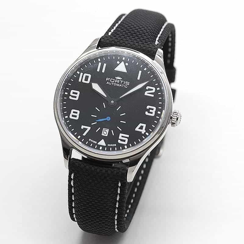 フォルティス(FORTIS) パイロット・クラシック セコンド 自動巻き 901.20.41LP 腕時計