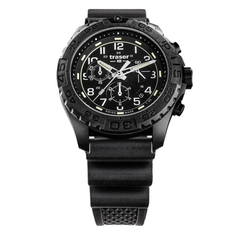 トレーサー/TRASER/OUTDOOR PIONEER(アウトドア パイオニア) P96 OdP Evolution クロノグラフ ブラック 腕時計