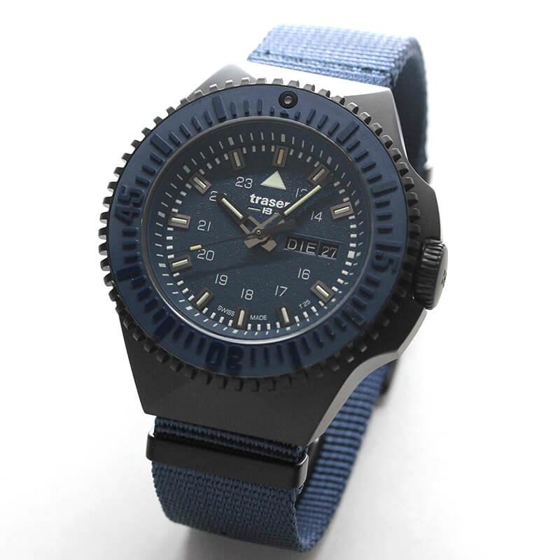traser(トレーサー) P69 Black Stealth(ブラックステルス) ブルー 9031599 腕時計