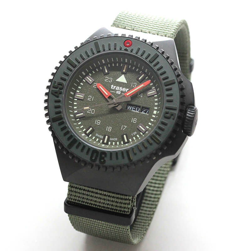 traser(トレーサー) P69 Black Stealth(ブラックステルス) グリーン 9031600 腕時計