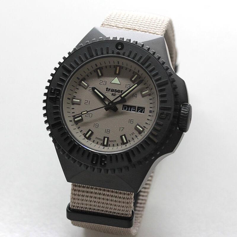 traser(トレーサー) P69 Black Stealth(ブラックステルス) サンド 9031601 腕時計
