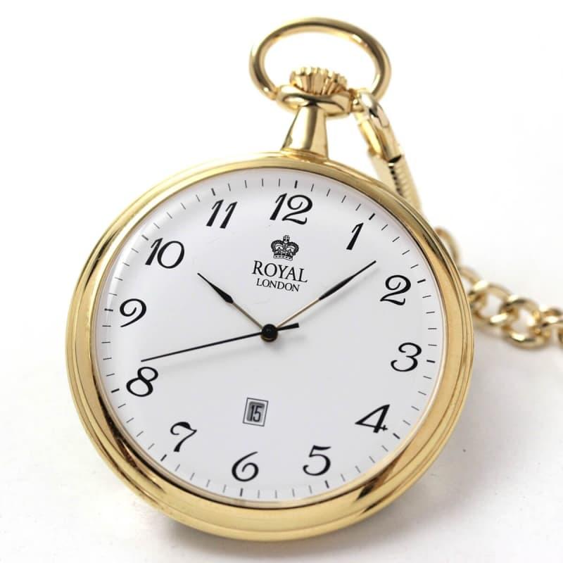 ROYAL LONDON(ロイヤルロンドン) クォーツ(電池式)懐中時計 90015-02