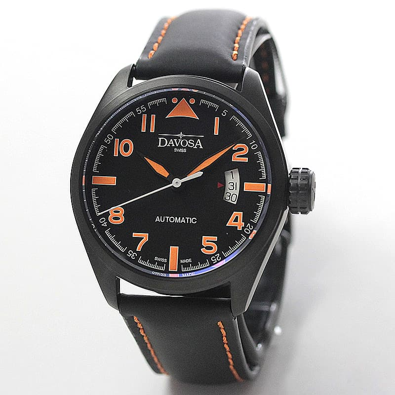 DAVOSA(ダボサ) Military(ミリタリー)/自動巻き/ブラック/メンズ/ 161.511.94 腕時計
