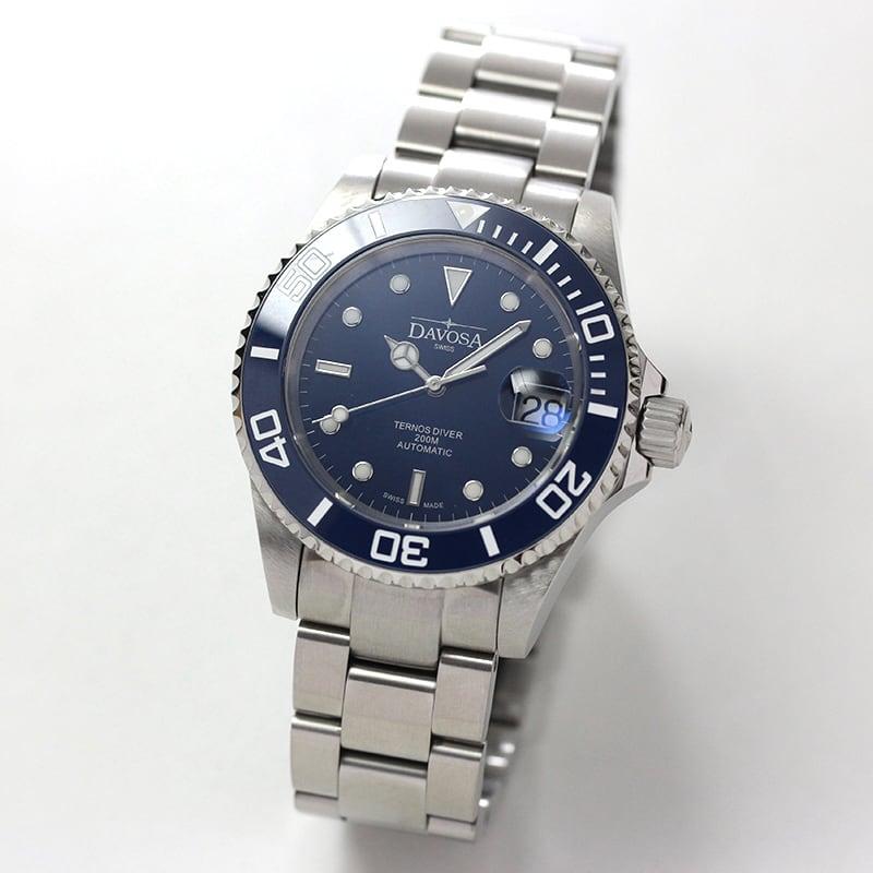 DAVOSA(ダボサ) Ternos Ceramic(テルノス セラミック)/自動巻き/ブルー/メンズ/ 161.555.40 腕時計
