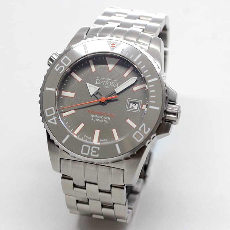 DAVOSA(ダボサ) Argonautic BG(アルゴノーティックBG)/自動巻き/グレー/ラバーベルト/メンズ/  161.522.95 腕時計