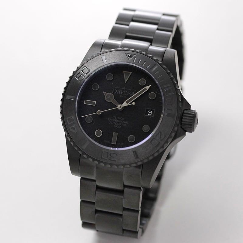 DAVOSA(ダボサ) Ternos Pro Black Suit(テルノス プロ ブラックスーツ)/自動巻き/世界限定500本/メンズ/ 161.583.50 腕時計