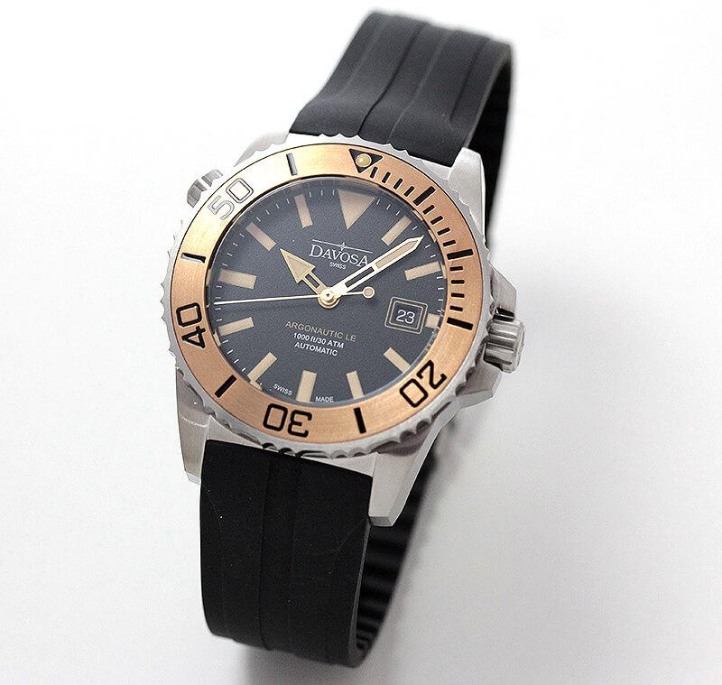DAVOSA(ダボサ) ARGONAUTIC BRONZE TT/自動巻き/ブロンズ/メンズ/161.526.55 腕時計