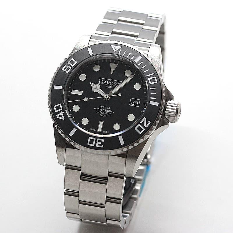 DAVOSA(ダボサ) Ternos Pro マットスーツ(テルノス プロ)/自動巻き/世界限定500本/メンズ/ 161.582.55 腕時計 ブラックカラー
