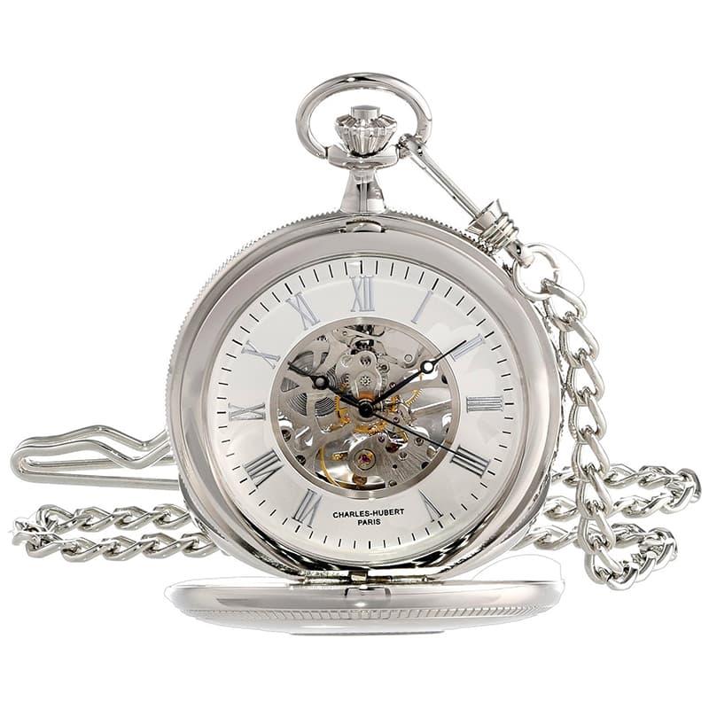 チャールズヒューバート(Charles-Hubert) 懐中時計 手巻き式 3953-W