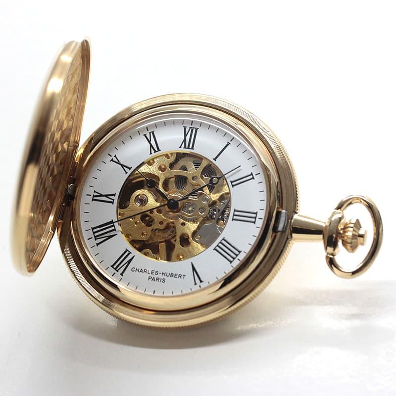 チャールズヒューバート(Charles-Hubert) 懐中時計 手巻き式 3789-G