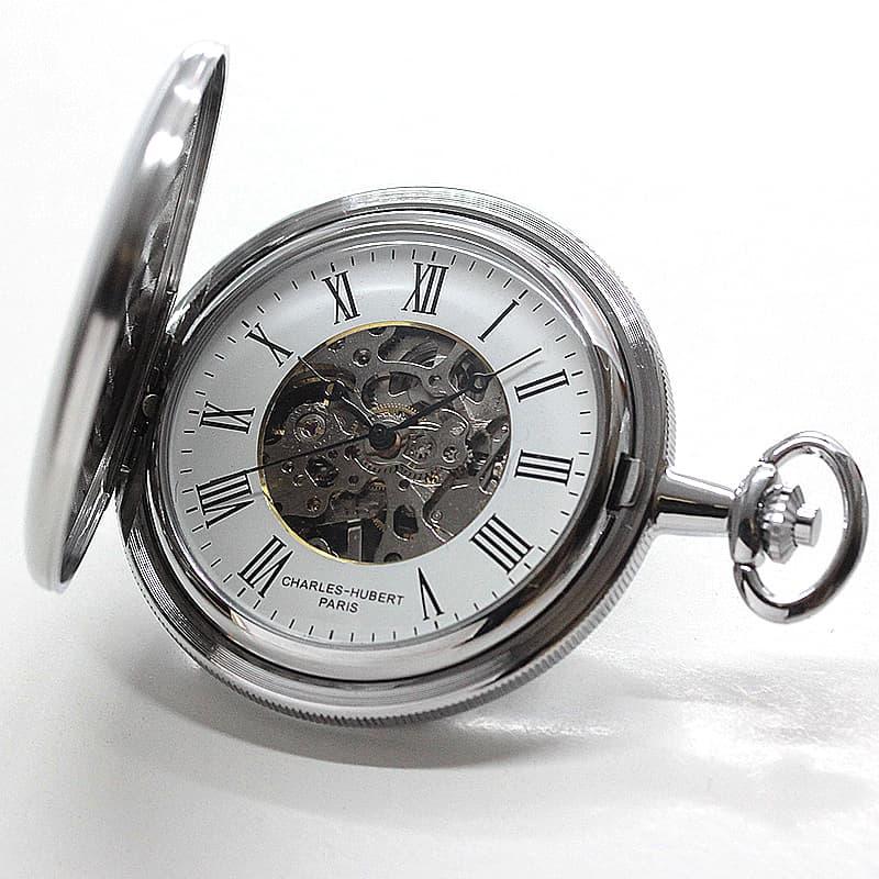 チャールズヒューバート(Charles-Hubert) 懐中時計 手巻き式 3789-W