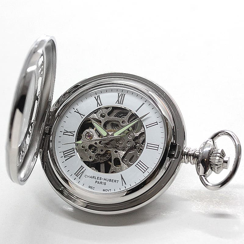チャールズヒューバート(Charles-Hubert) 懐中時計 手巻き式 3928