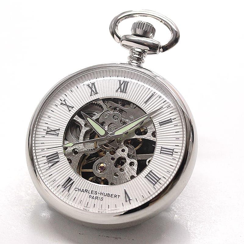 チャールズヒューバート(Charles-Hubert) 懐中時計 手巻き式 3673